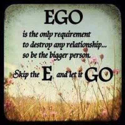 Ego problem-How to removeit?